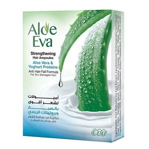 Aloe Vera And Yoghurt Proteins Hair Ampoules 15ml