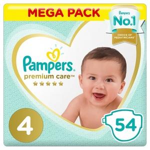 Pampers Premium Care Maxi S4 54 pcs