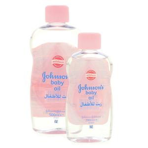 Johnson's Baby Oil 500ml+200ml