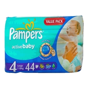 Pampers Ml Vp S4 44 16%Off 1pkt