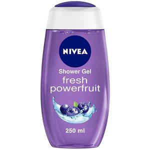 Nivea Shower Gel Power Fruit Relax 2x250ml
