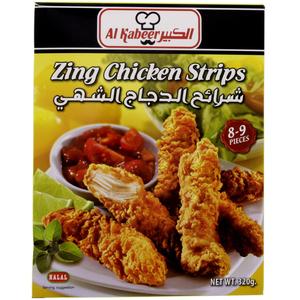 Al Kabeer Zing Chicken Strips 320g