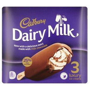 Cadbury Dairy M Swirl 3x100ml