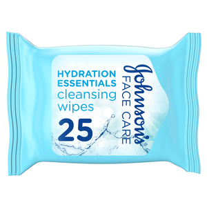 Johnson's Hydration Essentials Cleansing Wipes 25s