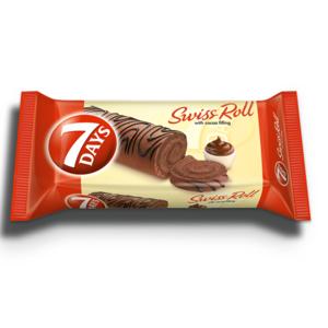 7days Swiss Roll Jumbo Choco 55g