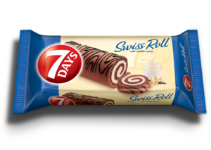 7days Swiss Roll Jumbo Vanilla 55g