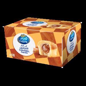 Lusine Caramel Cup Cake 18x33g