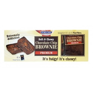 Eurocake Chocolate Chip Brownie 280g