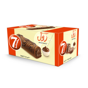 Almarai 7days Enrobed Swiss Roll Mini Choco 20g