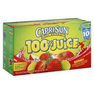 Caprisun Strawberry100% Fruit 200ml