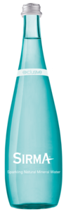 Sirma Sparkling Natural Mineral Water 1L
