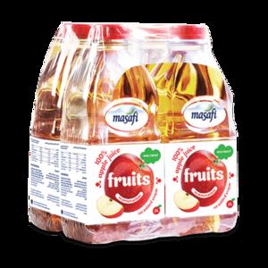 Masafi Apple Fruit Juice Shrink Wrap 4x2L