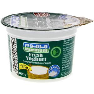 Marmum Full Cream Fresh Yoghurt 100g
