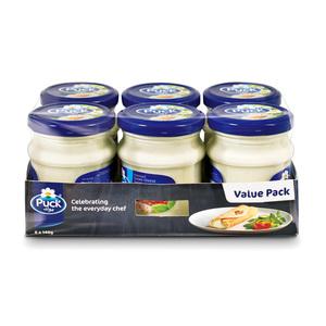 Puck Cream Cheese Spread Jar Value Pack 6x140g