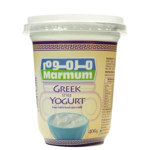 Greek Style Yoghurt 400 Gm 1x400gm