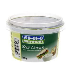 Marmum Sour Cream 200gms