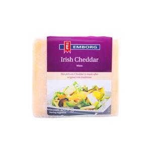 Cheddar Cheese Block White 24 x 200gm