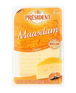 President Maasdam Slices 150gm