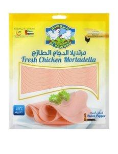 Al Rawdah Chicken Mortadella Pepper 200g
