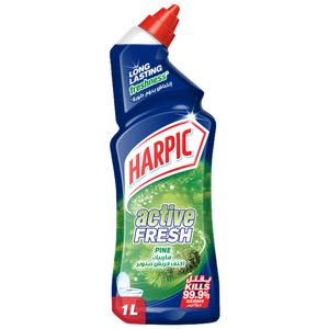 Harpic Toilet Cleaner Liquid Active Fresh Pine 1L