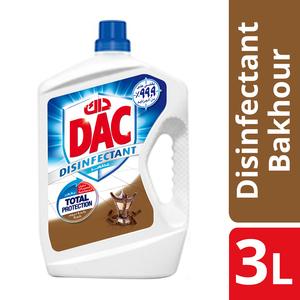Dac Disinfectant Bakhour Liquid Cleaner 3L
