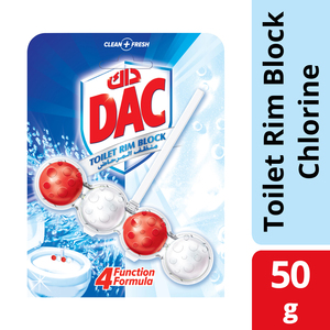 Dac Toilet Cleaner Power Active Chlorine 50g