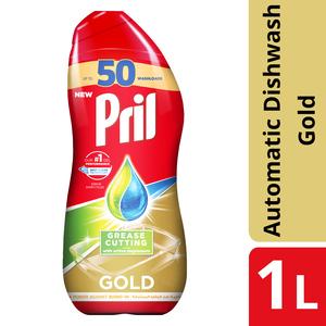 Pril Action Dishwash Gold Grease 1L