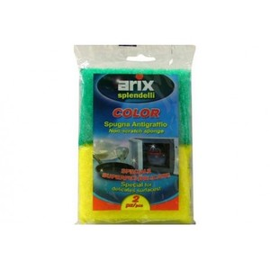 Arix Synthetic Anti Scratch Sponge 2pc