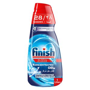 Finish Dishwasher Detergent Concentrated Gel Regular 1L