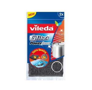 Vileda Glitzi Power Inox 2pc