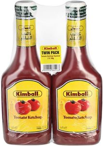 Kimball Ketchup Squeeze 2x745g