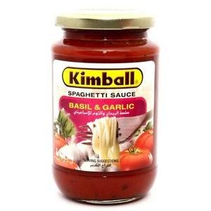 Spaghetti Basil & Garlic Sauce 350g
