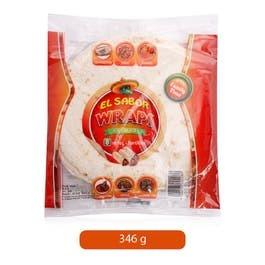 El Sabor Tortilla Wrap 346g
