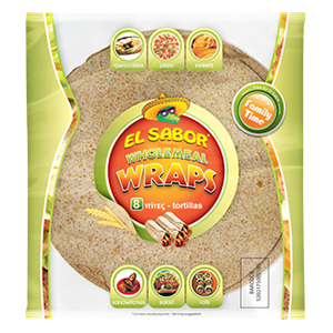 Tortilla Wrap Wholemeal 360g