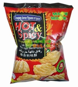 Miaow Hot And Spicy Snack 60g