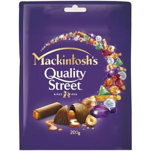 Mackintosh Quality Street Chocolate Pouch 200g
