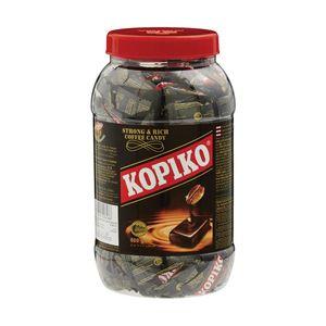 Kopiko Strong & Rich Coffee Candy Jar 6x800g