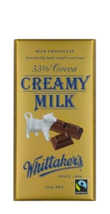 Fair Trade Creamy Milk Bar200g 14x200g