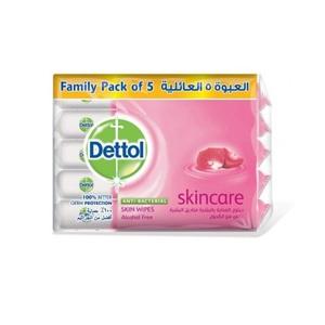 Dettol Skincare Antibacterial Skin Wipes 5x10s