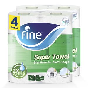 Fine Towel Household Basic Towel 100sx2Ply