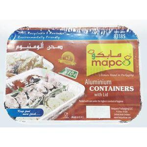 Hotpack Aluminium Container-83185 10pc
