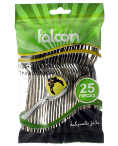 Falcon Silver Color Table Spoon 24pc
