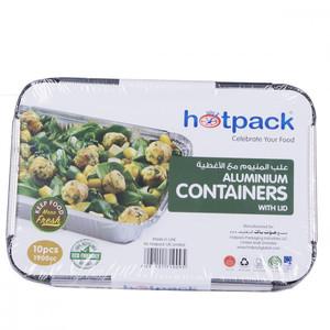 Hotpack Aluminium Container-83120 10pc