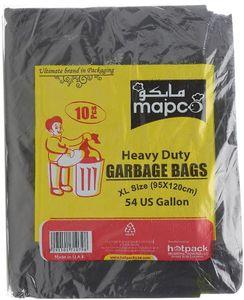 Mapco Heavy Duty Garbage Bag 95x120 Cm 20x10pc