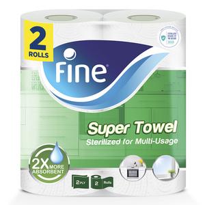 Fine Basic Household Towel 2x60s