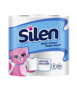 Silen Toilet Paper Rolls 4s