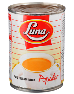 Luna Evaporated Milk 410g