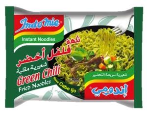 Indomie Green Chilly Noodles 5x80g