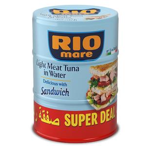 Rio Mare Light Meat Tuna Sandwich 3x160gm