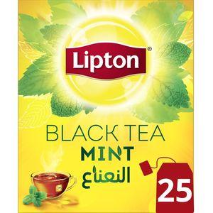 Lipton Flavoured Black Tea Mint, 25Teabags 25Teabags